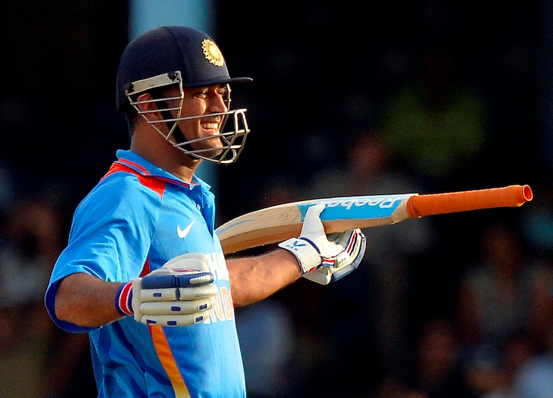 MSD - The Best Indian Captain.