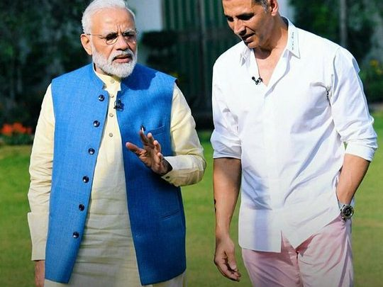 Narendra Modi with Akshay Kumar - An Exclusive Interview